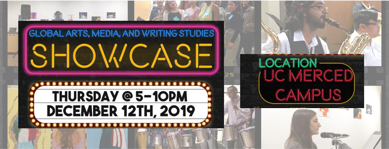 Global Arts, Media and Writing Studies SHOWCASE